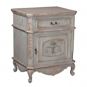 Furniture o accent tables o labondance french nightstand