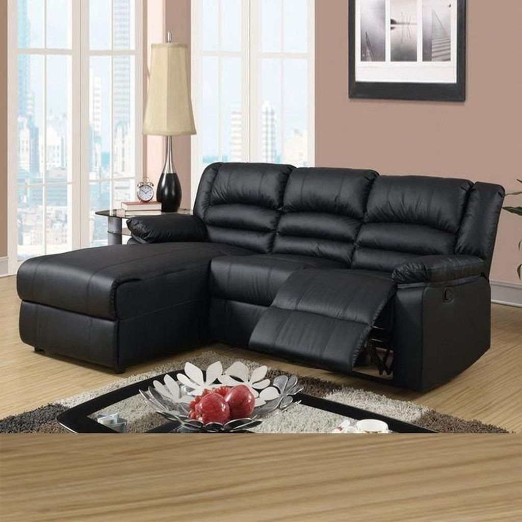 Superbe Leather Sectionals With Chaise And Recliner