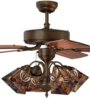 Tiffany Style Ceiling Fan Light Shades - Foter