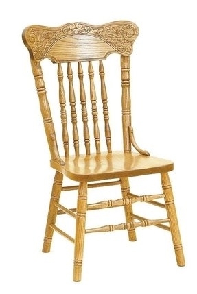 Oak Double Pressback Chairs Ideas On Foter