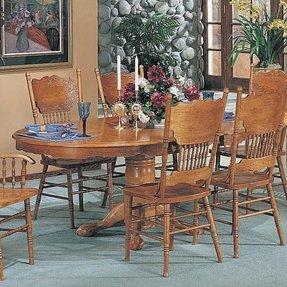 Oak Double Pressback Chairs 20