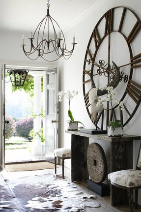 Oversized decorative wall clocks 1