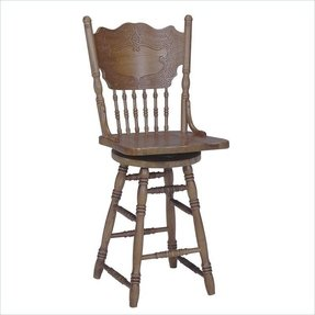 Pressback bar stool