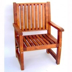 Redwood outdoor ruths arm chair