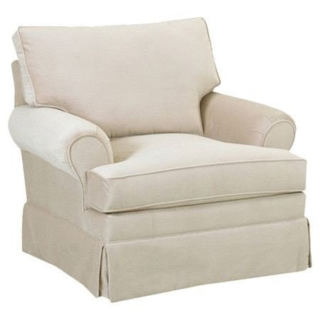 Skirted Arm Chair. AlyssaCole100. 1. Classic Silhouette ...