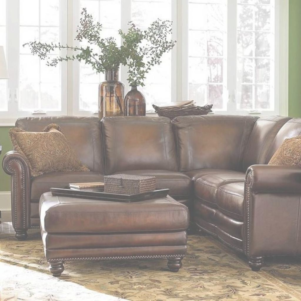 Exceptionnel Small Leather Sectional Sofa   Ideas On Foter