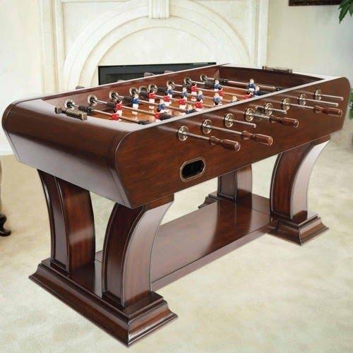 Charmant Solid Wood Foosball Table