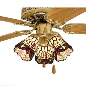 Tiffany style ceiling fan light shades foter tiffany style ceiling fan light shades 4 aloadofball Gallery