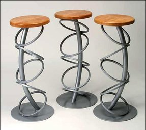 Viva Bar Stool Cool Curvaceous Modern