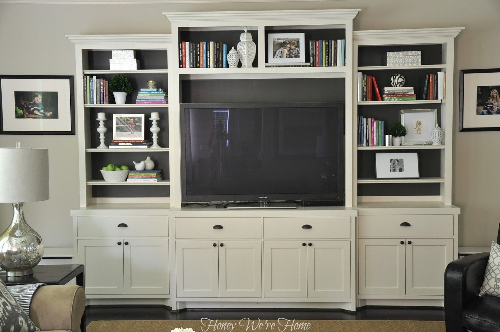 Modern Designed TV Unit Will Be Perfect Match To Light Living Room Decor.  Two Big Cabinets And Two Spacious Drawers Provides Enough Storage Space For  DVDu0027s.