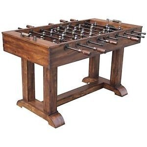 Attrayant Wood Foosball Table