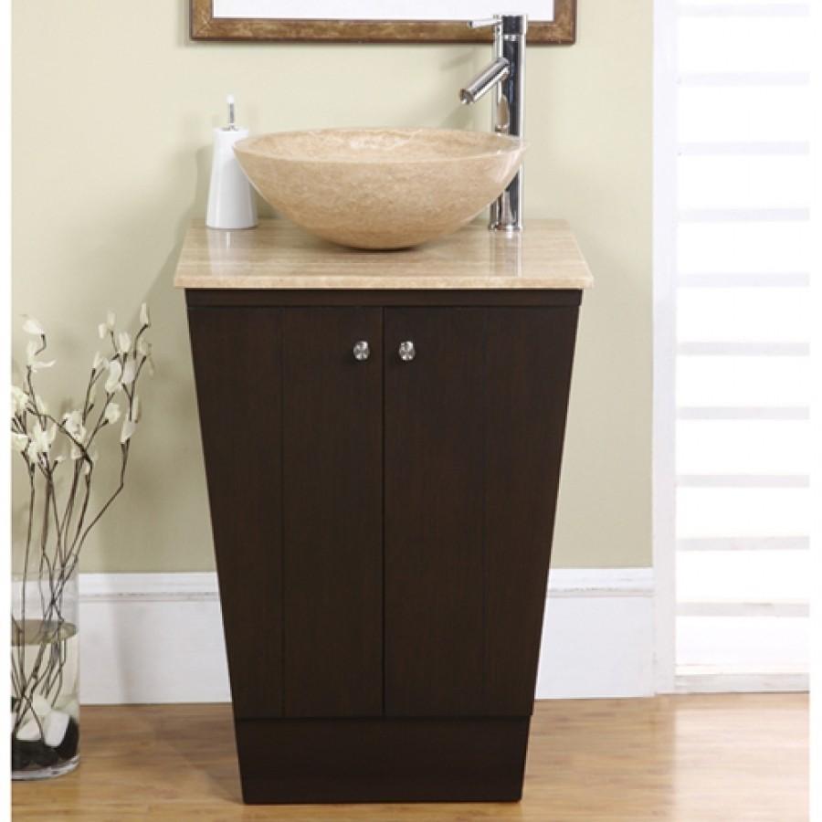 Ordinaire Bathroom Vanity Sink On Auburn Marble Vessel Sink On A
