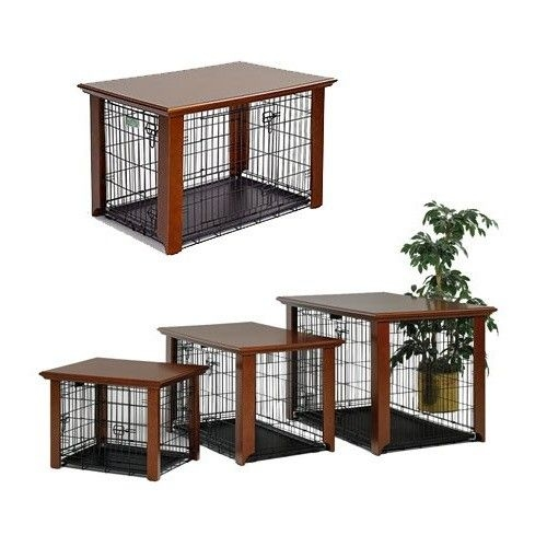 Furniture Style Indoor Dog Cage Midwest Classic Collection Pet Crate