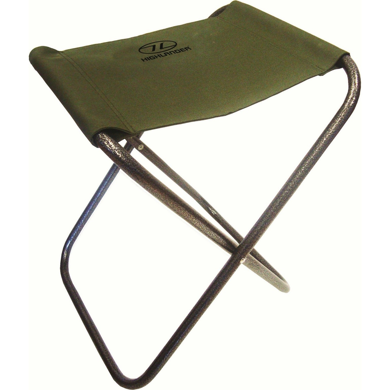 Highlander Fishing Stool Folding Seat Camping Festival Travel Mens