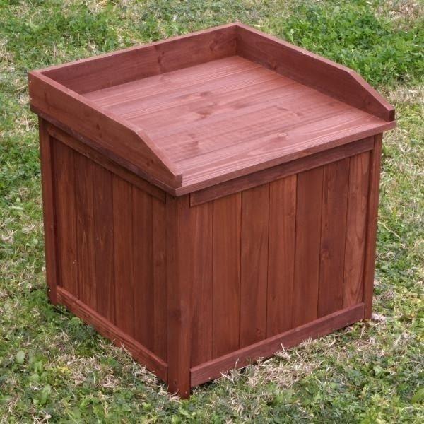 Outdoor Furniture Outdoor Living Wooden Outdoor Storage Box 3