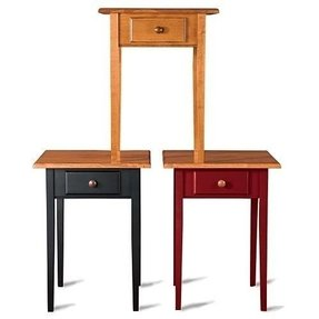 Shaker inspired end tables