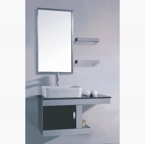 Stainless steel bath furniture