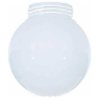 Glass shade with screw in 3 11 64 inch fitter