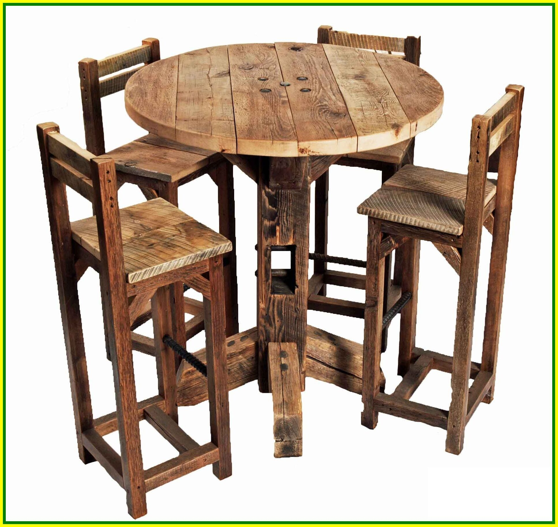 Superb High Top Pub Table And Chairs