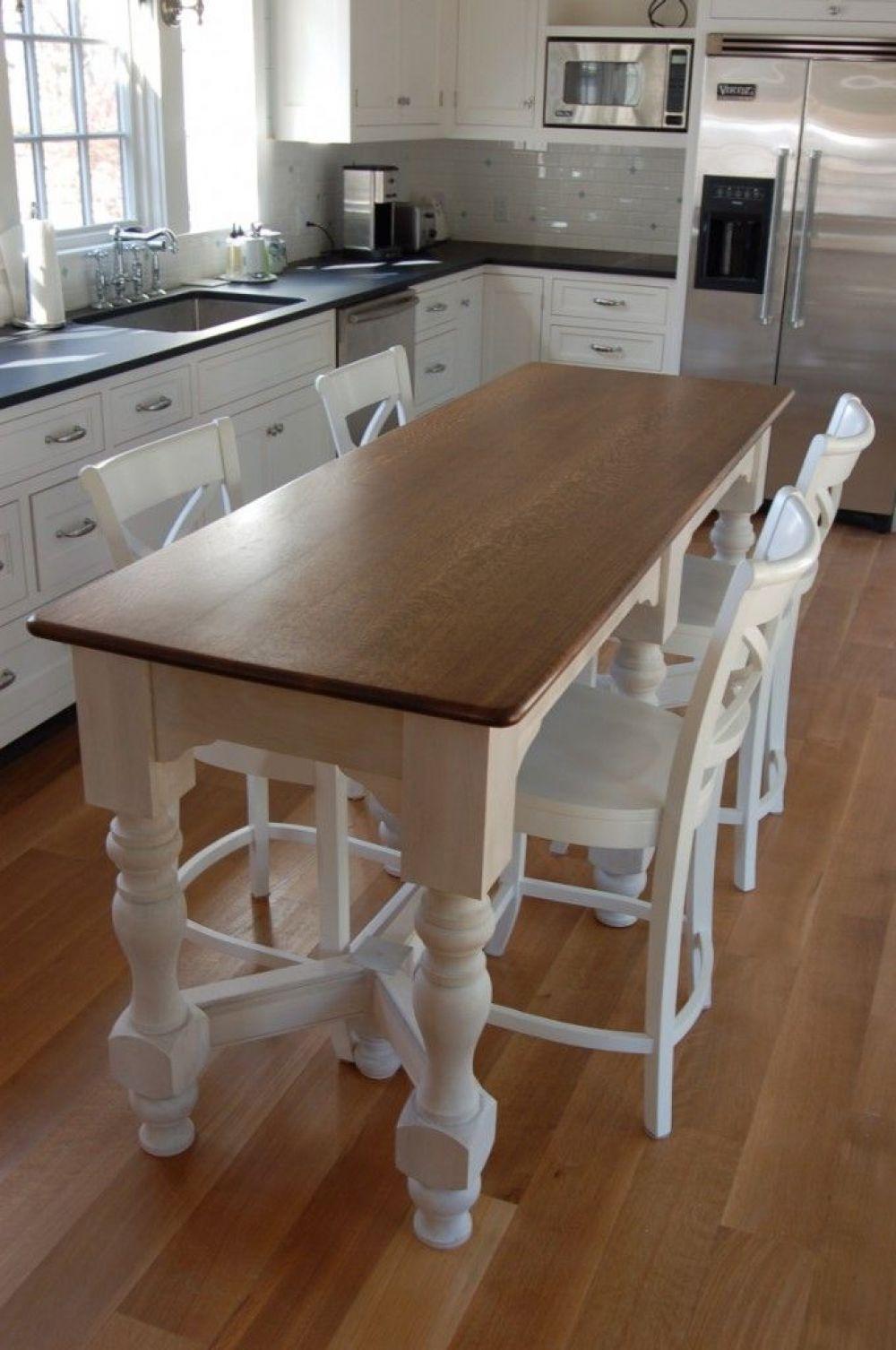 Amazing Kitchen Island Bar Table