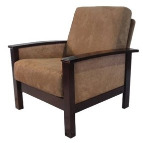 Modern contemporary milano espresso and mocha chair