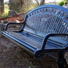 Ordinaire Personalized Memorial Bench