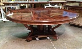 Round Dining Room Table Seats 12