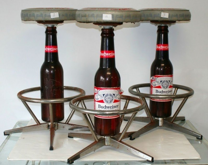 Beer bar stool 2