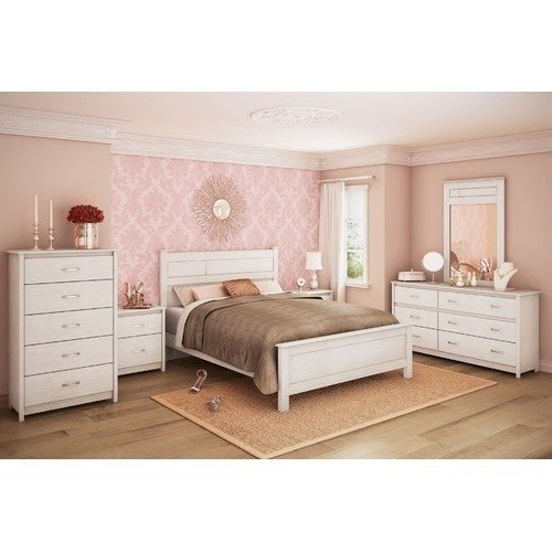 Distressed White Bedroom Furniture In Distressed White Wash