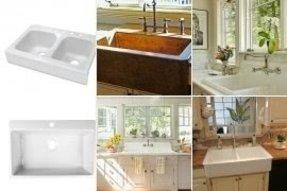 Drop In Farmhouse Kitchen Sink Ideas