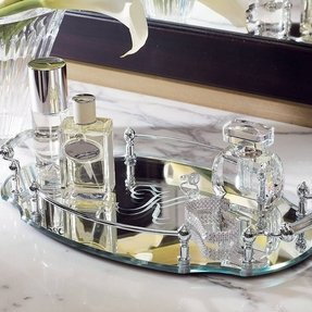 Glass Mirror Tray Foter