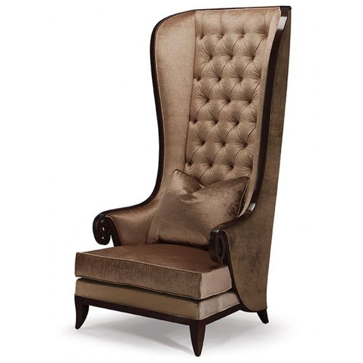 Charmant High Wing Back Chairs 1