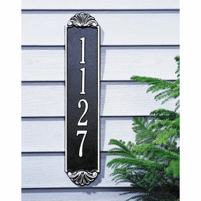 Vertical Address Plaques For House Ideas On Foter