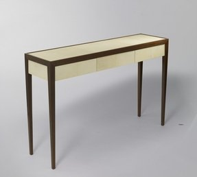 Home console table with drawers