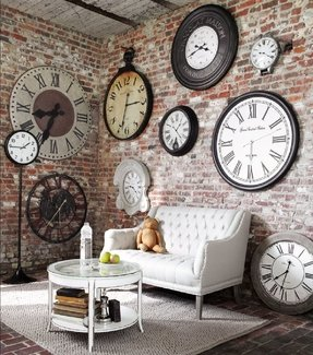 Large Clocks Wall Decor Ideas On Foter