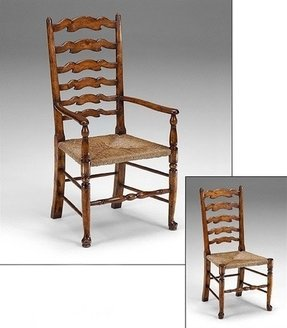 French Ladder Back Arm Chair Foter