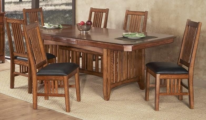 Mission Oak Dining Table