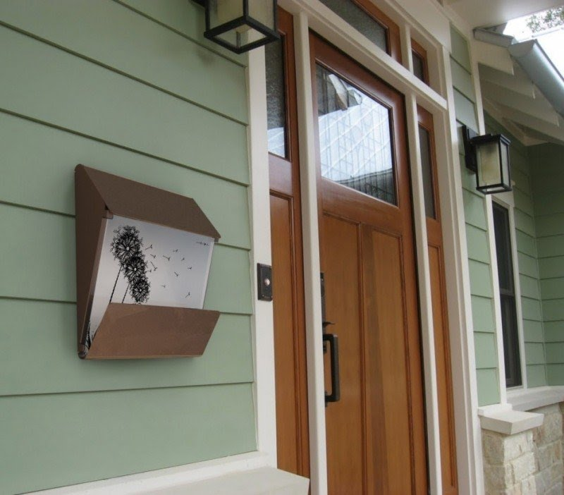 Captivating Modern Wall Mount Mailboxes 4