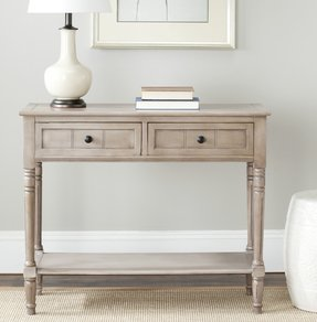 Narrow Console Table With Drawers 1