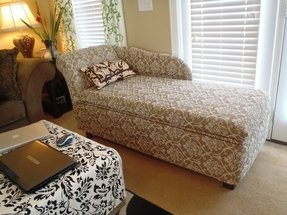 Storage Chaise Lounge Furniture Foter