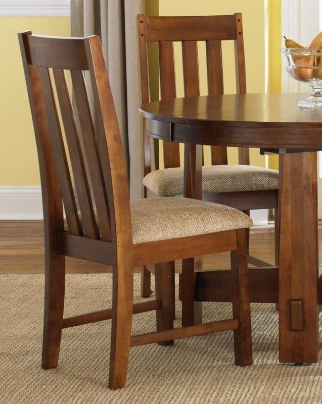 Oak Upholstered Dining Room Chairs