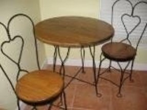 Soda shop tables 16
