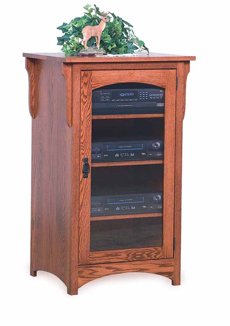 Swe Misson Stereo Component Cabinet