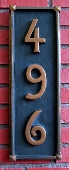Vertical Address Plaques For House - Ideas on Foter