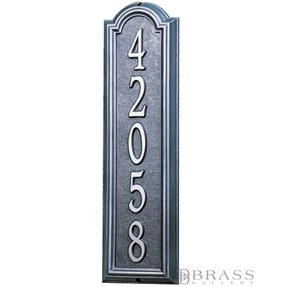 8e4c414287f94 Vertical Address Plaques For House - Ideas on Foter