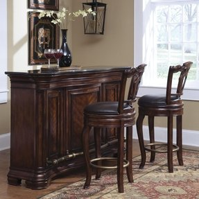 Antique home bar