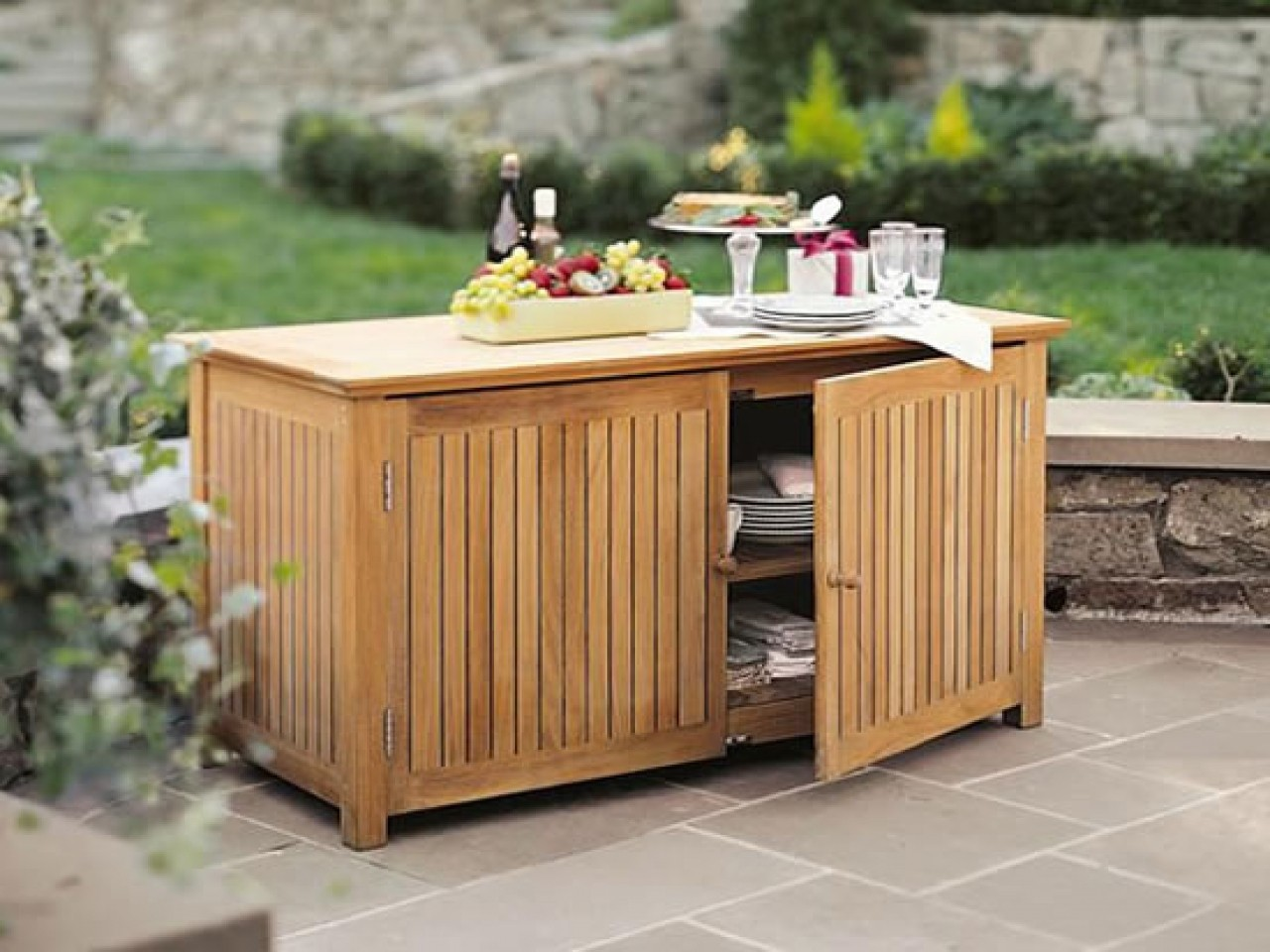 Superbe Outdoor Bar Storage Cabinet   Ideas On Foter