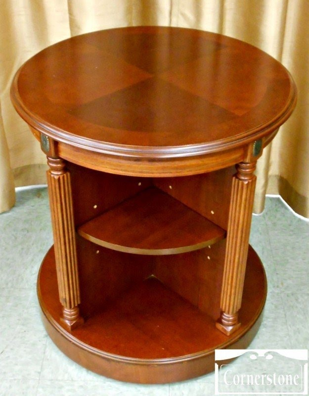 Beau Bookcase With Table