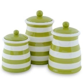 Ceramic kitchen canister ceramic canister sets green kitchen canisters