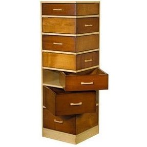 Empiles corner chest of drawers
